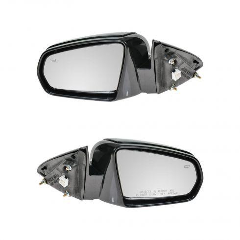 07-10 Chrysler Sebring Sedan Fixed Heated Power PTM Mirror PAIR