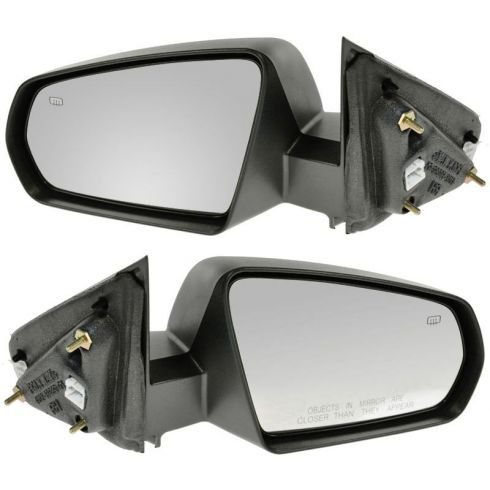 08-10 Dodge Avenger Heated Power Textured Fixed Mirror PAIR