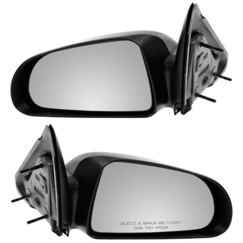 "05-10 Dodge Dakota Pick-Up Textured Fixed 5X7"" Manual Mirror PAIR"