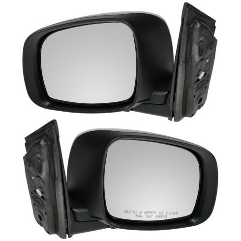 08-10 Grand Caravan Town And Country Code GUM Textured Manual Mirror PAIR