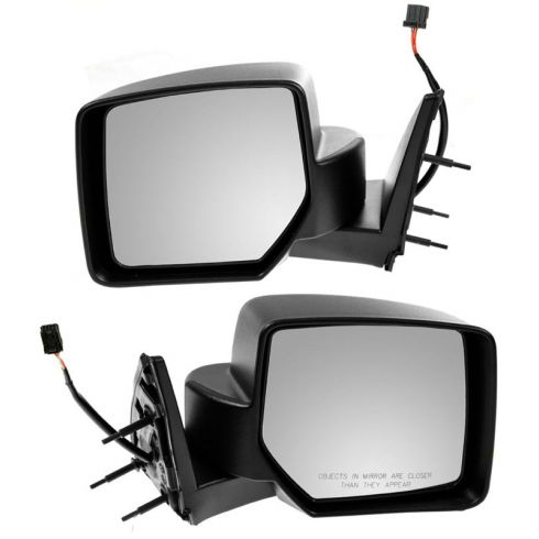07-11 Dodge Nitro Textured Power Mirror PAIR