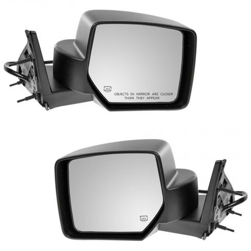 07-11 Dodge Nitro Textured Heated Power Mirror PAIR