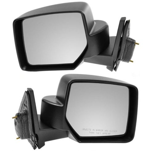 07-10 Jeep Patriot Textured Manual Mirror PAIR