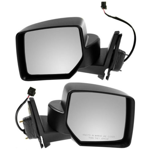 07-10 Jeep Patriot Textured Power Mirror PAIR