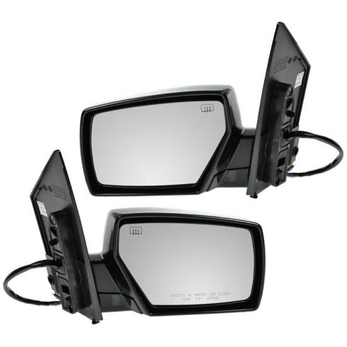 04-09 Nissan Quest PTM Heated Power Mirror PAIR