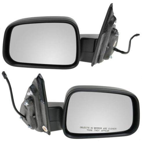 06-11 Chevy HHR Black Textured Power Mirror PAIR