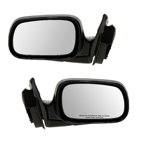 94-97 Accord 4 Dr Sdn and Wagon Manual Mirror PAIR