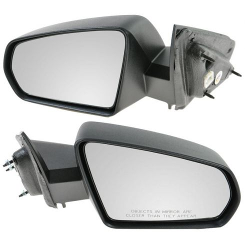 2008-11 Dodge Avenger Power Textured Mirror PAIR