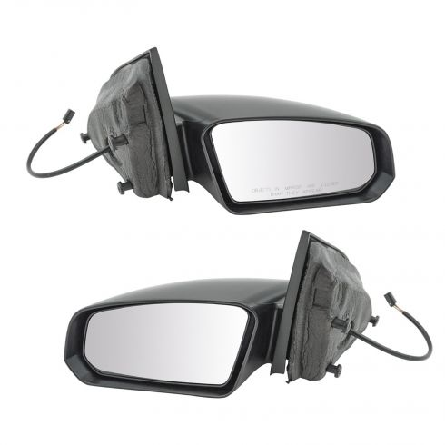 2003-07 Saturn Ion Coupe Power Textured Mirror PAIR