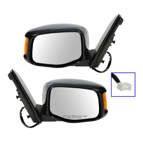 11-12 Honda Odyssey Power Heated w/Turn Signal w/Memory PTM Mirror PAIR