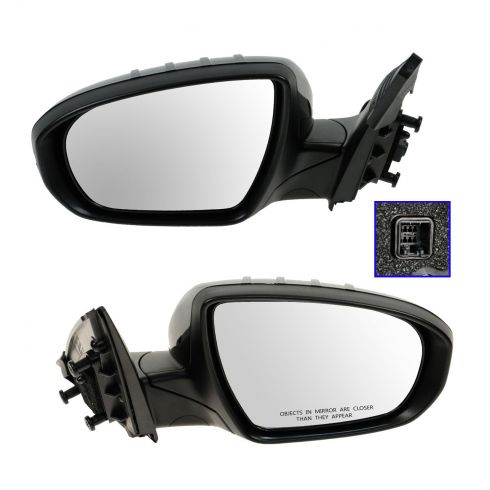 11-12 Kia Optima, Hybrid Power w/Turn Signal Mirror PAIR