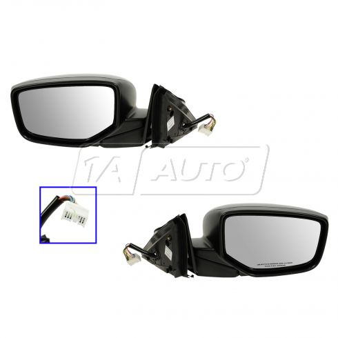 10-12 Honda Crosstour Power, Heated, w/Memory PTM Mirror PAIR
