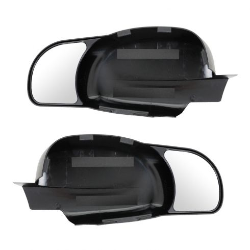 07-12 GM Full Size New Body PU, SUV, Avalanche Extension Mirror PAIR (Snap on)