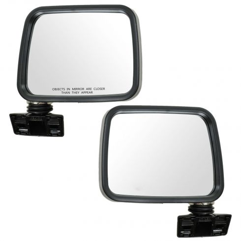88-93 Isuzu Pup Pu; 91-93 Rodeo Manual Chrome Mirror PAIR