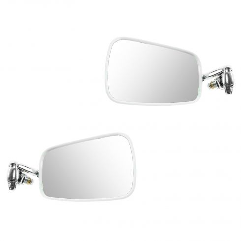 68-79 VW Beetle Manual Chrome Mirror PAIR