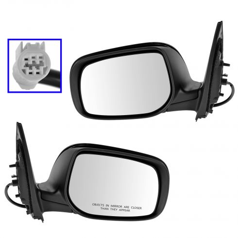 09-12 Toyota Corolla Power Gloss Black Mirror PAIR