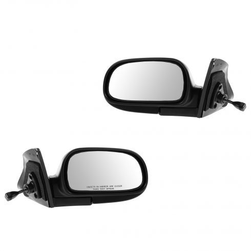 93-97 Toyota Corolla Manual Remote Mirror PAIR