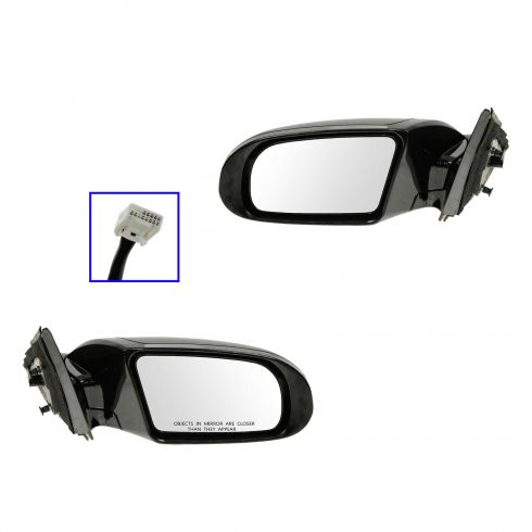 09-12 Nissan Maxima Power Heated w/Memory w/Turn Signal PTM Mirror PAIR