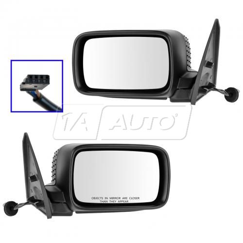 92-96 BMW 318iC; 94-96 318iS; 92-95 325iC; 94-95 325iS; 96 328iC (w/Rect Head) Power Mirror PAIR