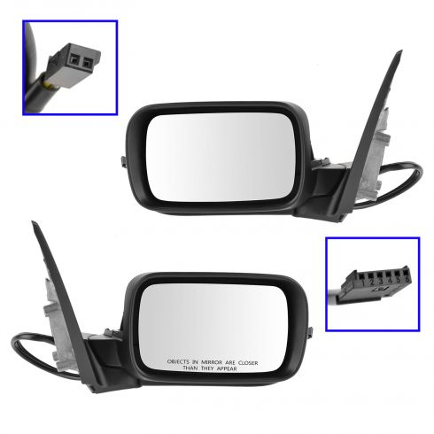 01-05 BMW 320i, 325i, 325Xi, 330i, 330Xi; 99-00 323i, 328i Power Folding, Heated Mirror PAIR
