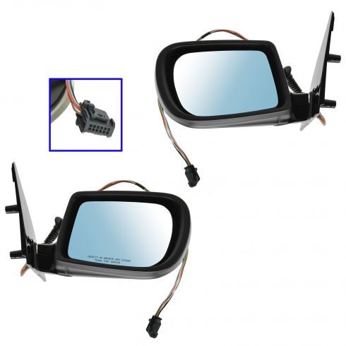95-01 BMW 740i, 740iL, 750iL Power Heated w/Memory Mirror PAIR