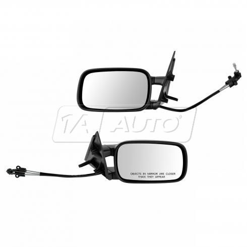 90-97 VW Passat Manual Remote (Cable Controlled) Mirror PAIR