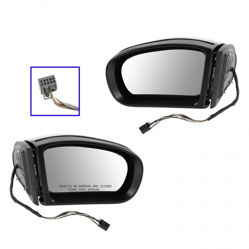 01-05 MB C240; 02-06 C230; 02-05 C240; 06 C280; 01 C320 Power Heated w/TS (7 Pin) Mirror PAIR