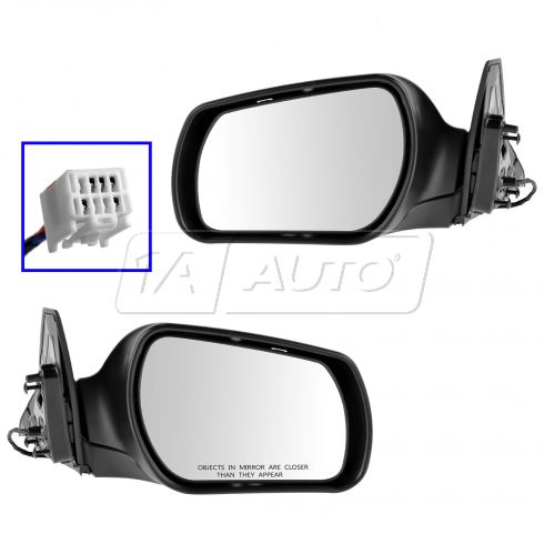 03-08 Mazda 6 (exc Speed6) Power Folding PTM Mirror PAIR