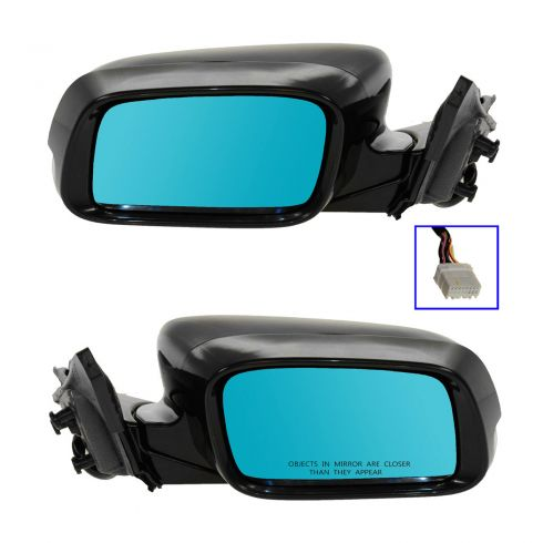 09-12 Acura TL Power Heated w/Memory w/Turn Signal PTM Mirror PAIR