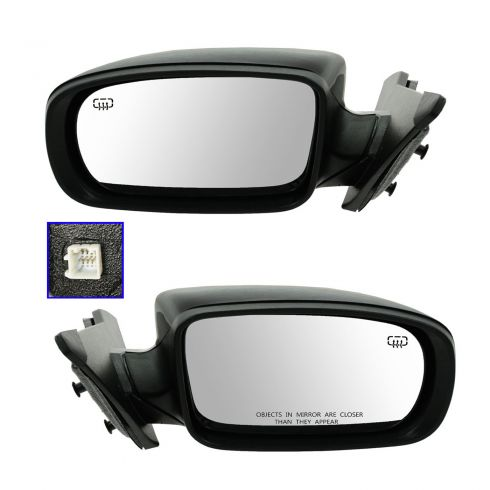 11-13 Chrysler 200 Convertible Power Heated PTM Mirror PAIR