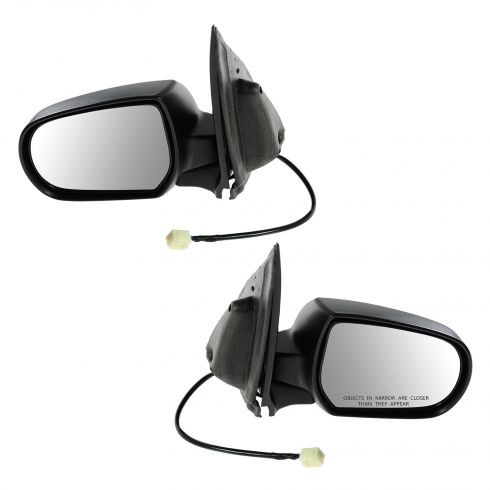 01-06 Mazda Tribute Power Textured Mirror PAIR