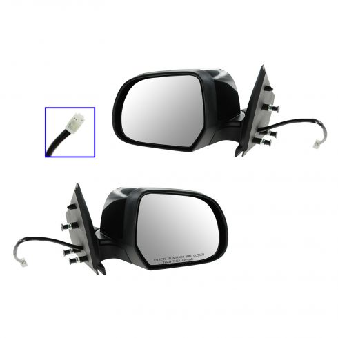 12-13 Nissan Versa Sedan Power PTM Mirror PAIR
