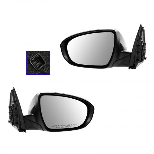 12-13 Kia Optima Power, Heated w/Turn Signal PTM Mirror PAIR