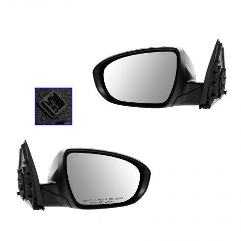 12-13 Kia Optima Power Folding, Heated, Power, w/Turn Signal PTM Mirror PAIR