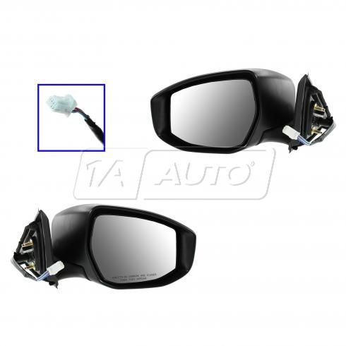 13 Nissan Sentra Power w/Signal PTM Mirror PAIR
