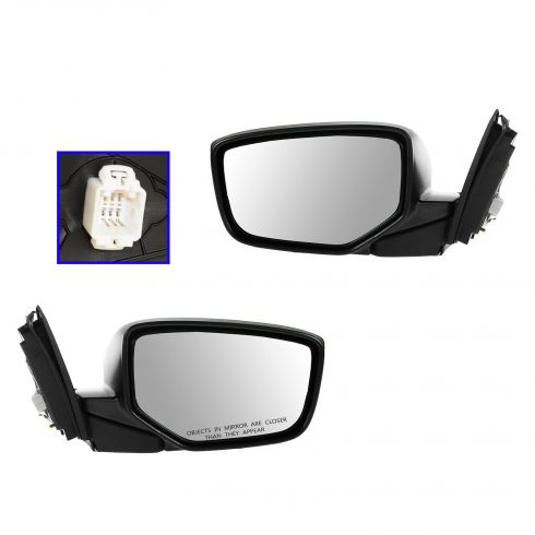 08-12 Honda Accord Coupe Power PTM Mirror PAIR