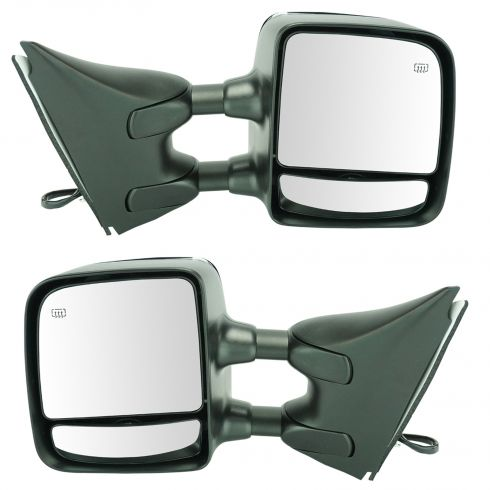 05-12 Nissan Pathfinder Power Heated Mem (w/Txt & Chm Cvrs) Dual Swing Telescp Tow Mirror Upgrade PR