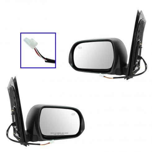 13 Toyota Sienna Power Heated PTM Mirror PAIR