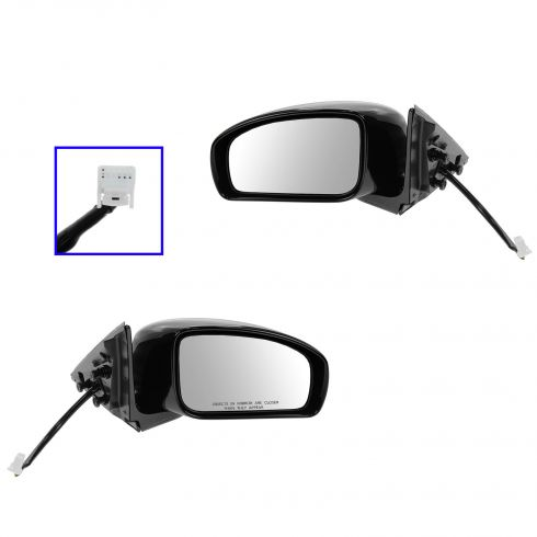 07-08 Infiniti G35 Sedan Power Heated PTM Mirror Pair