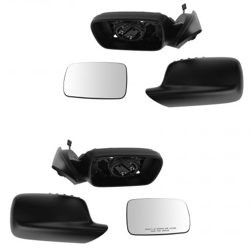 00-06 BMW 323Ci; 325Ci; 328Ci; 330Ci Power Heated Fixed Mirror Pair