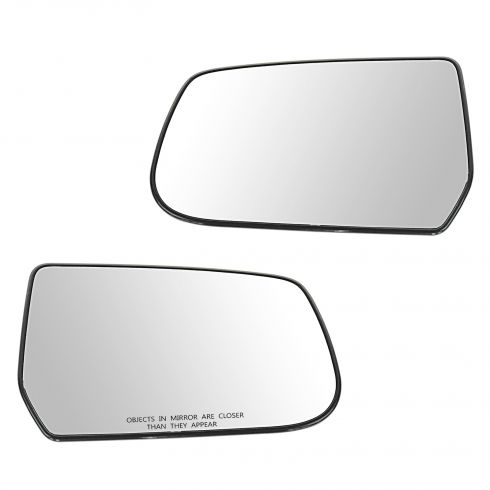 10-11 Chevy Equinox, GMC Terrain Power Mirror Glass w/Backing Plate PAIR