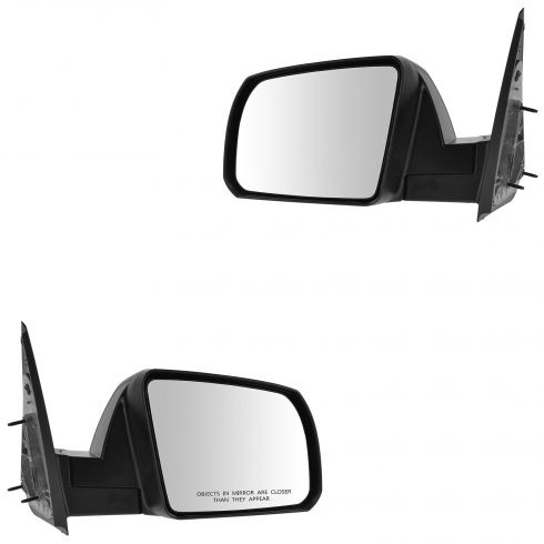 14-15 Toyota Tundra Manual w/Textured Cap Mirror PAIR