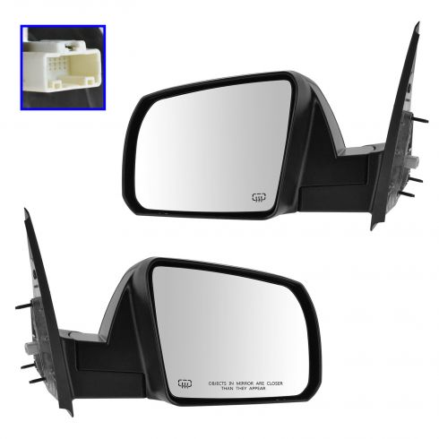 14-15 Toyota Tundra Power, Heated w/Textured Cap Mirror PAIR