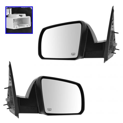 14-15 Toyota Tundra Power, Heated w/Chrome Cap Mirror PAIR