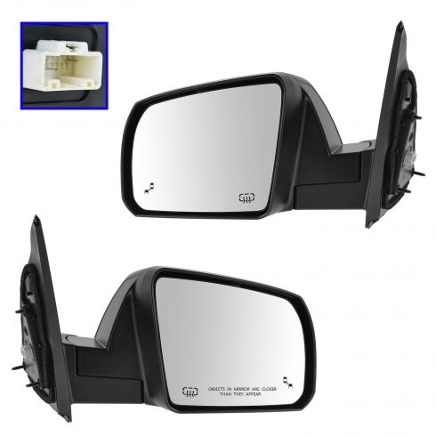 14-15 Toyota Tundra (w/Lane Change Assist) Power, Heated w/Textured Cap Mirror PAIR