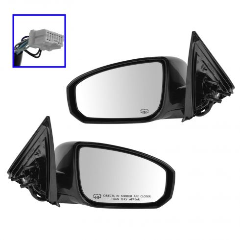 04-08 Nissan Maxima, pwr heated memory pwr folding mirror PAIR