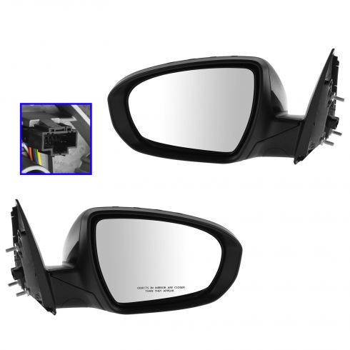 14-Kia Optima Power Heated Signal Mirror PTM Pair