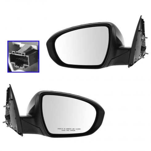 14-Kia Optima Power Heated Signal Pwr Folding Mirror PTM Pair