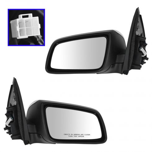 08-09 G8; 11-14 Caprice Power Chrome Mirror PAIR