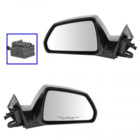 08-13 CTS 4dr; 10-14 CTS Wagon Power Heated PTM Mirror PAIR